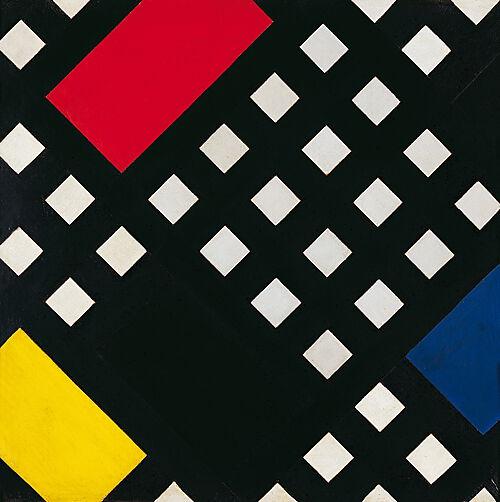 Theo van Doesburg, Kontra-Komposition XV