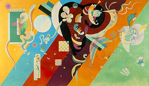 Wassily Kandinsky, Composition 9
