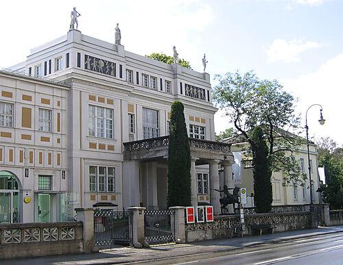 Villa Stuck, München, heute Ausstellungsort und Museum