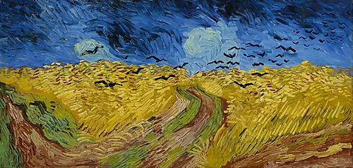 Vincent van Gogh, Kornfeld mit Krähen