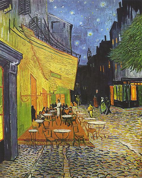 Vincent van Gogh, Caféterrasse am Abend